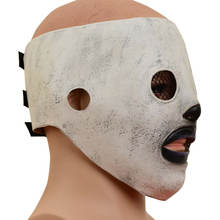 Dropshipping  Slipknot Joey  Halloween Latex Head Mask Slotted Band Mask Half Face Slotted Mask