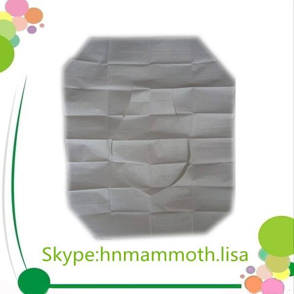 Eco-friendly Flushable Disposable Paper Toilet Seat Cover Sheet