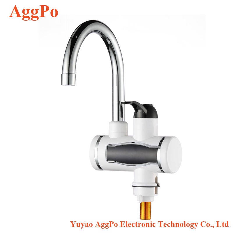 Smart Kitchen Faucet Electric Faucet Fast Hot Kitchen Po Temperature Display 3000W 220V Electric Water Heater Kitchen