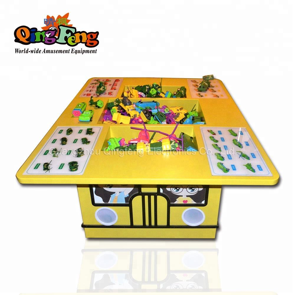 Qingfeng Amusement Park Children's Entertainment Indoor Games Toys Table Trucks Multi-function Educational Toys table
