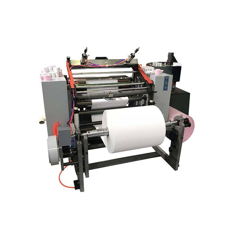 4kw High Quality Automatic Paper Roll Slitting Slitter Rewinder Machine