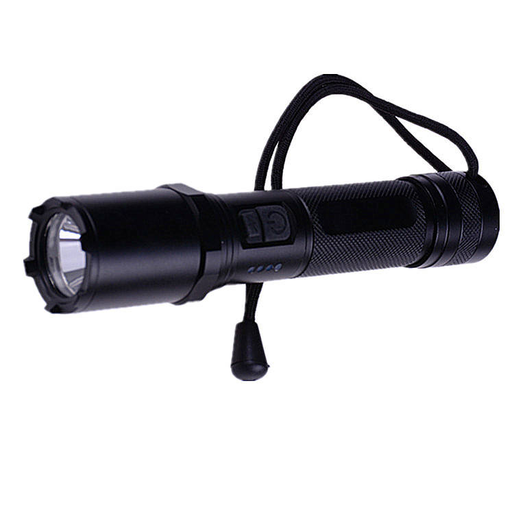 Malaysia 18650 Powered Led Flashlight,Waterproof Deep Diving Flashlight, Rechargeable Torch light For Malaysia