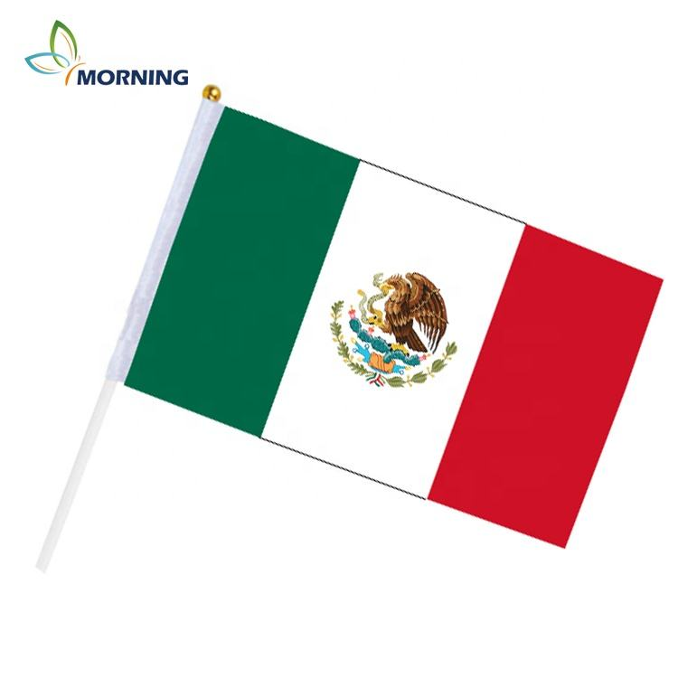 Mexico printing 2018 world cup fans come on hand flag