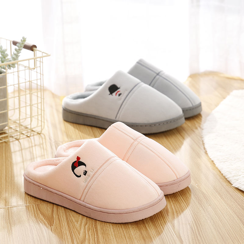 2018 cheap The new household ms plush slippers at home
