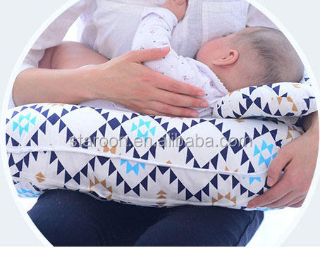 Newest cute design various pattern baby nursing feed pillow