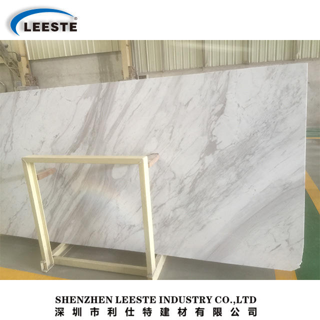 Popular 2018 hot sell Greece Volakas White Marble Flooring and Marble Slabs