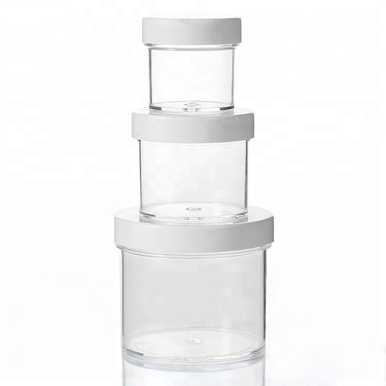 High quality Slime Jars 2oz Clear Containers For All Your Glue Putty Making Storage Slime Jars