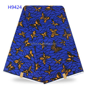 Good price wax print fabric african supper quality hollandis wax for women