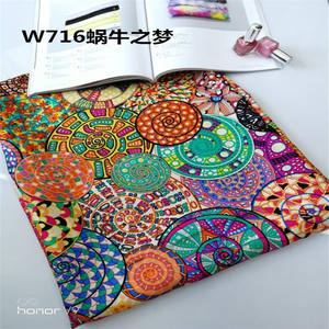 Scarf factroy product chinese silk scarf print