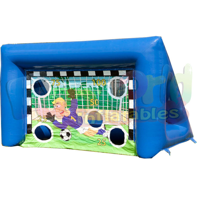 Inflatable football goal air soccer goal inflatable portable goal