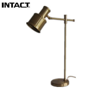Hotel luxury decorate table lamp design led metal office desk lamp
