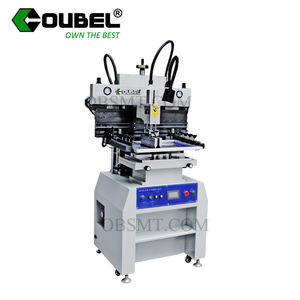 high quality semi-auto SMT PCB printing machine for solder paste with CE