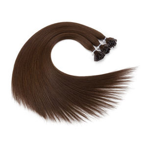 Double Drawn Remy Indian U tip Human Hair Extensions Free Samples