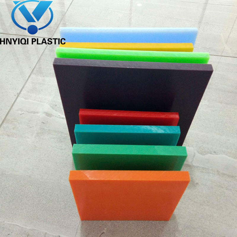 Colorful 2-100mm Environment-Friendly Plastic Polyethylene PP/PE Sheet/Block/Plate