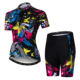 Wholesale Custom Cycling Jersey Short Sleeve Women Bike Clothing Bicycle Shirts Padded Shorts Set
