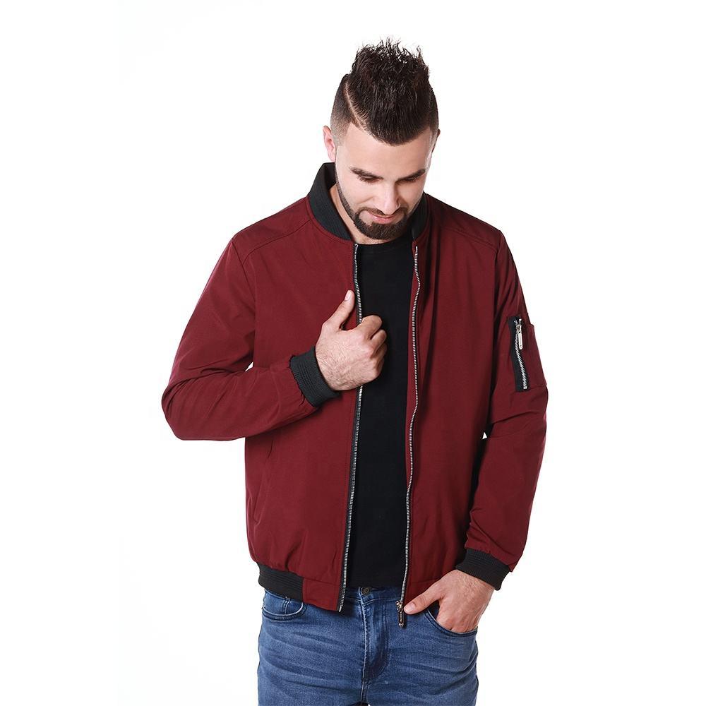 2019 New Style Custom Logo Bomber Jacket