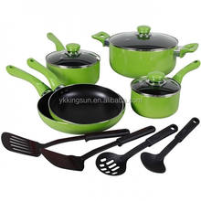 hot sell with high quality 13pcs aluminium cookware set /cooking pot /fry pan with non stick