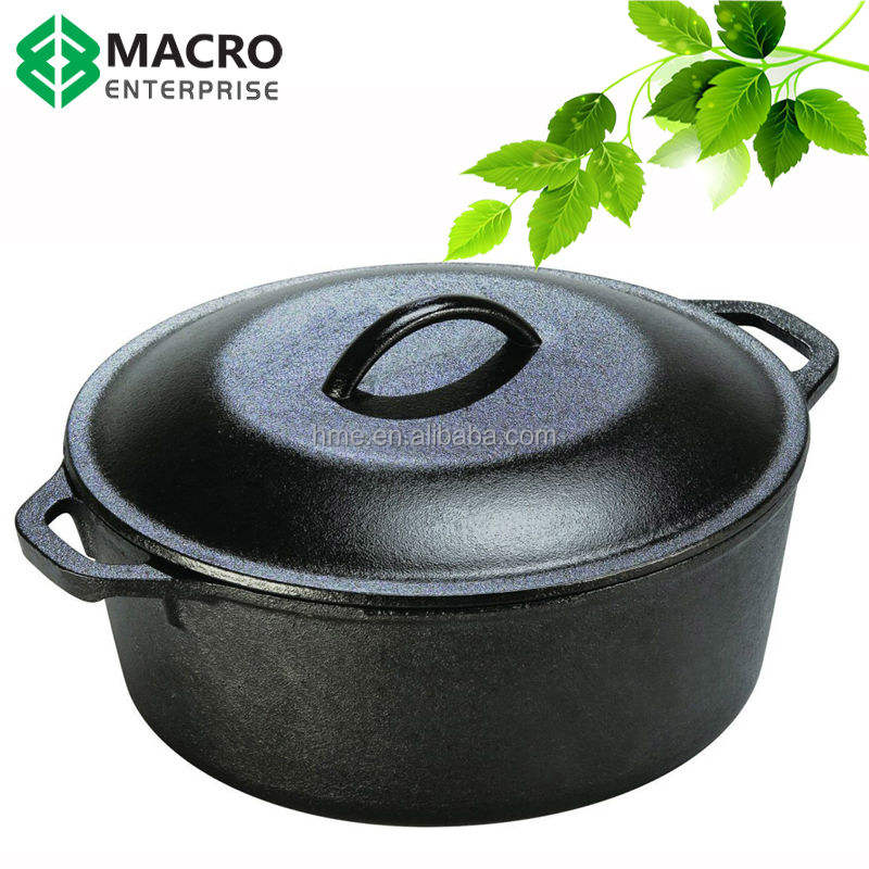 Season cast iron dutch oven/cookware
