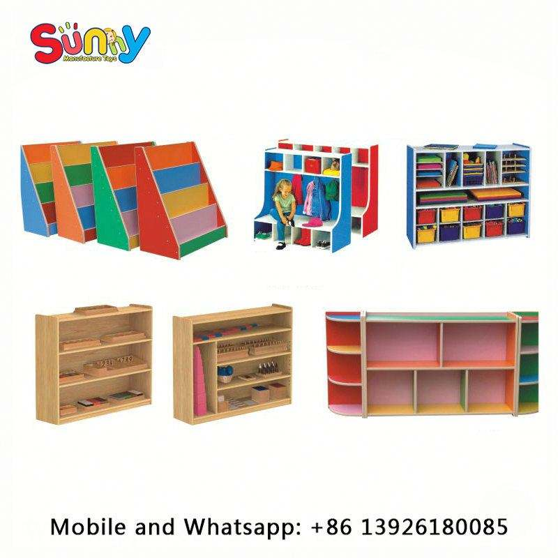 Used school and kindergarten furniture kindergarten furniture cabinet