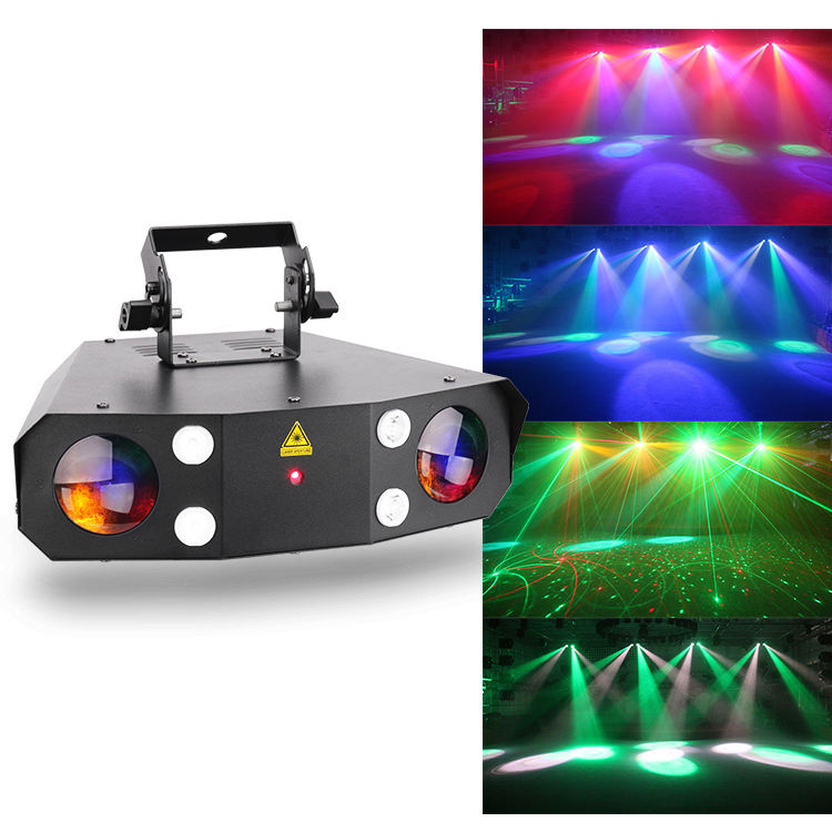 Mini DMX512 Strobe LED Light Laser Effect Dj Laser Light Price 45W Text Laser Light