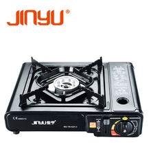 JINYU stainless surface single burner outdoor camping use portable gas stove