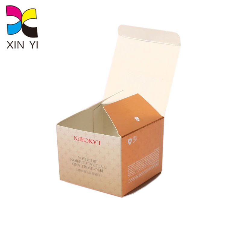 Print on Demand Customized Wholesale Coated Paper Packaging Empty Tea Box