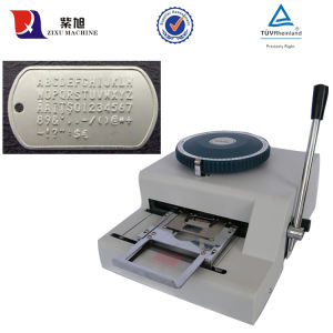 ZIXU Embossing Embosser Machine 68 Character Card Marking Metal Card Marker