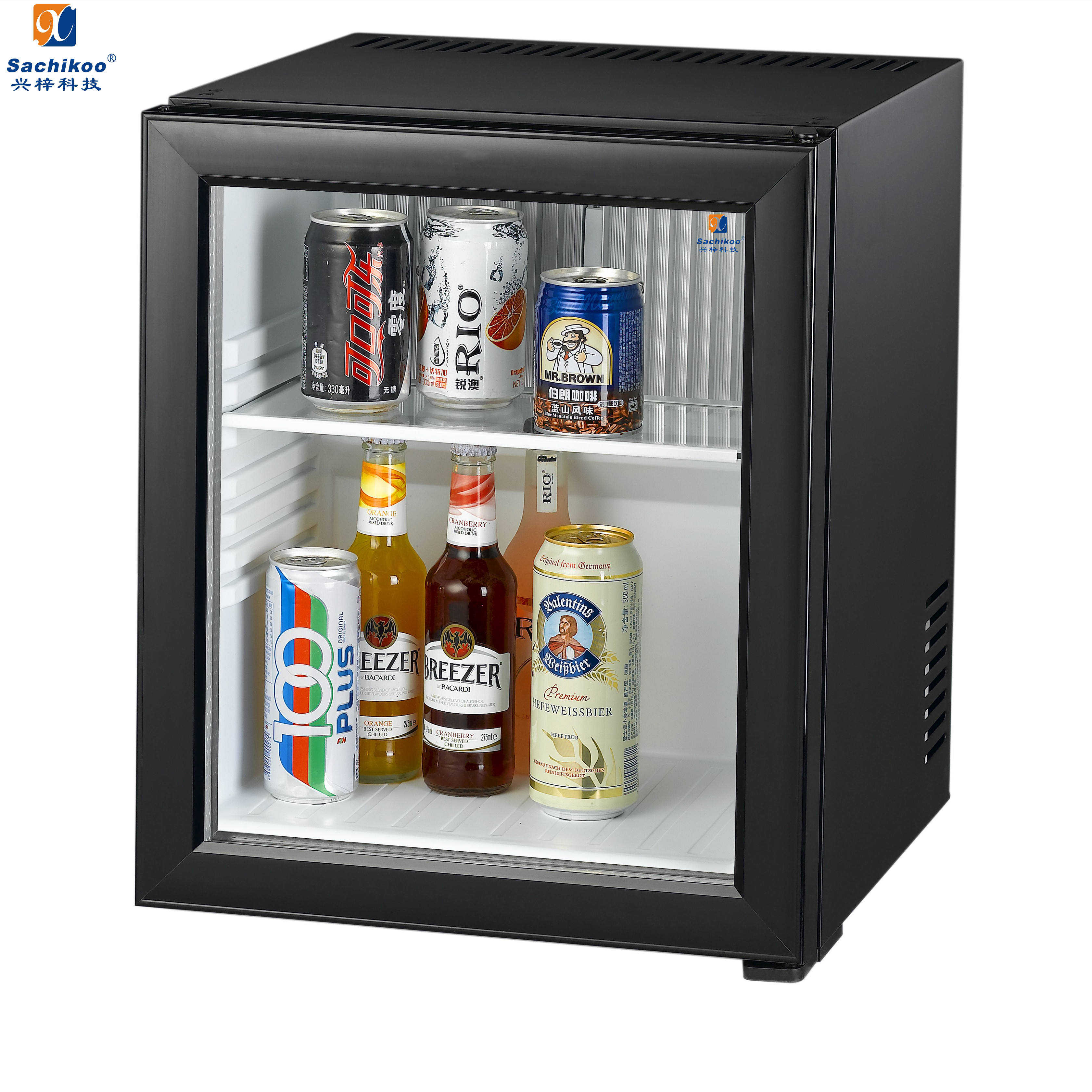 National hotel small refrigerator mini bar refrigerator
