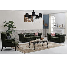 Chesterfield Sofa Style living room italy modern leather sofa