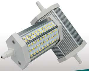 118mm r7s led de alto lumen Samsung 2835 30 w 3000lm led r7s lámpara