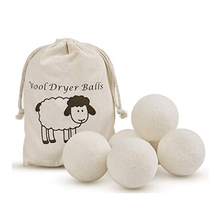 2020 bestseller amazon organic handmade 100% new zealand wool dryer balls in stock