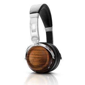 New Wooden Headband Head Phone Foldable Noise Cancelling Wireless Bluetooth Stereo Headphones