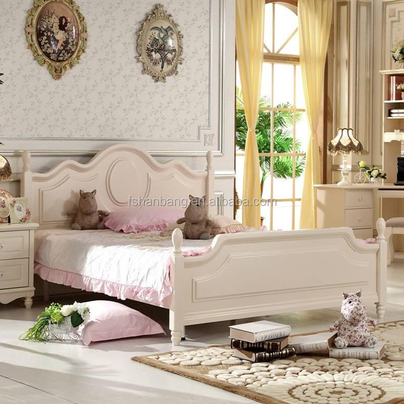 Estilo coreano de madera maciza muebles hogar moderno juego de dormitorio
