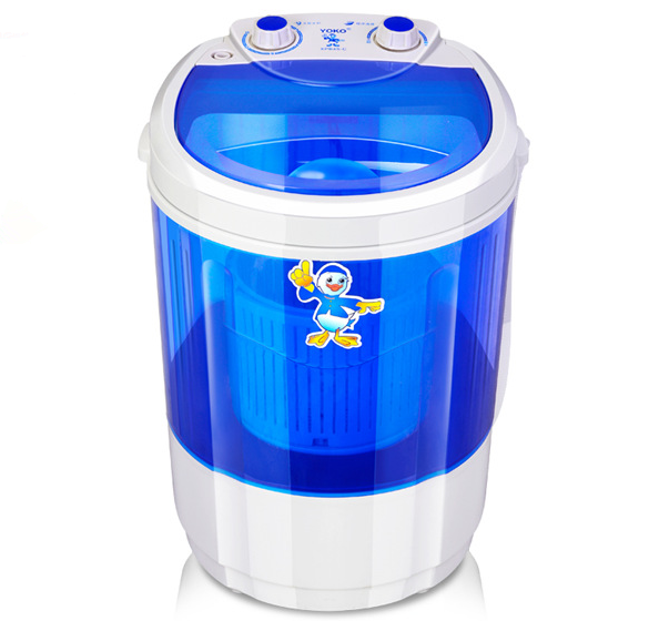 Top-Loading Semi-Automatic Electric Small Mini Portable Compact Washer Washing Machine with Spin Dry 4.5kg Capacity