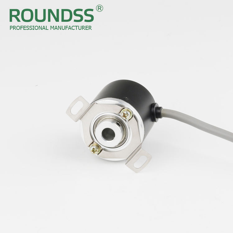 Roundss baja poros berongga poros encoder incremental encoders digital display