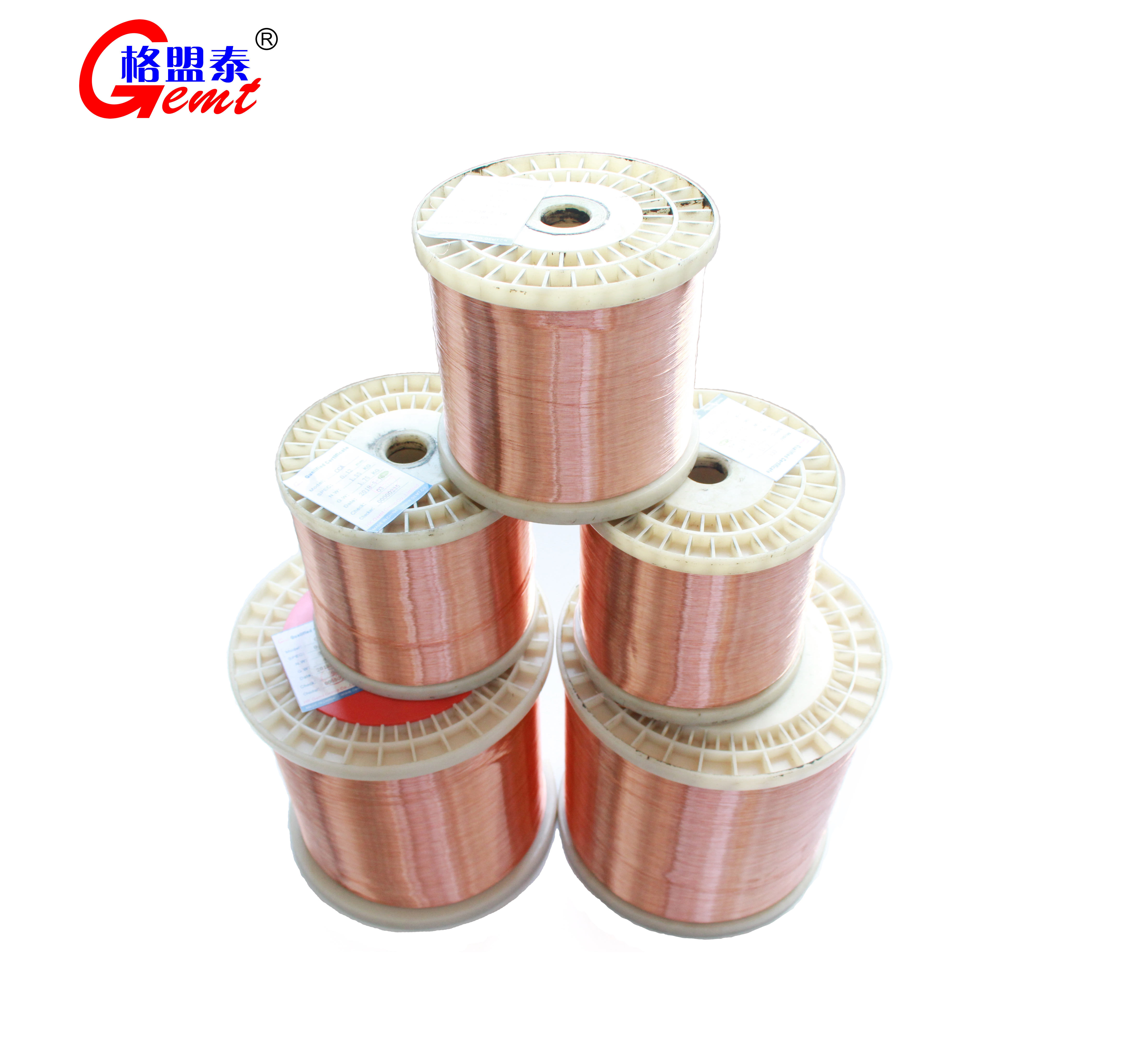 High Quality Enameled Copper Clad Aluminium Wire