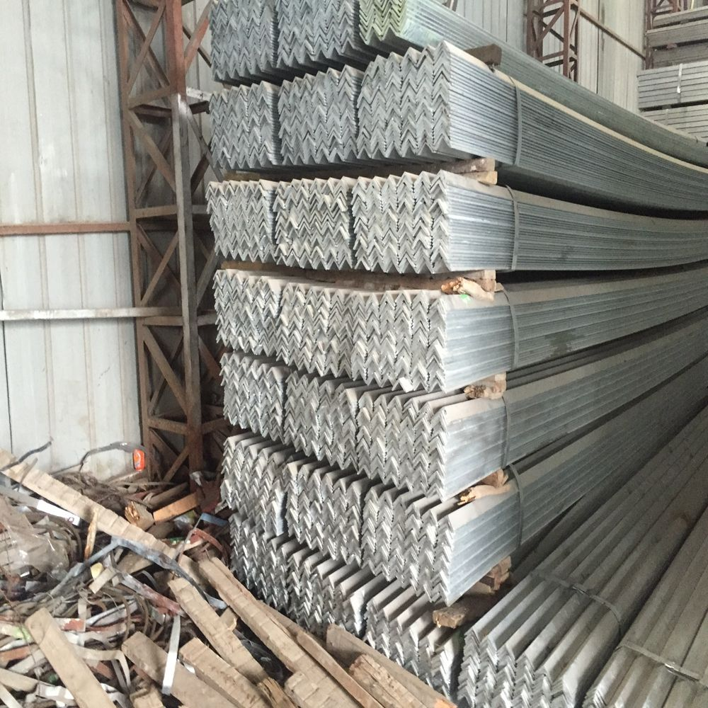 L section profile equal steel angle iron/angle bar size 63*6mm