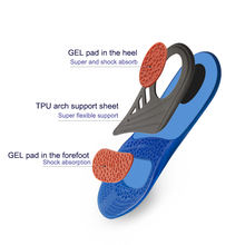 alibaba china adjustable sports foot massage gel insoles
