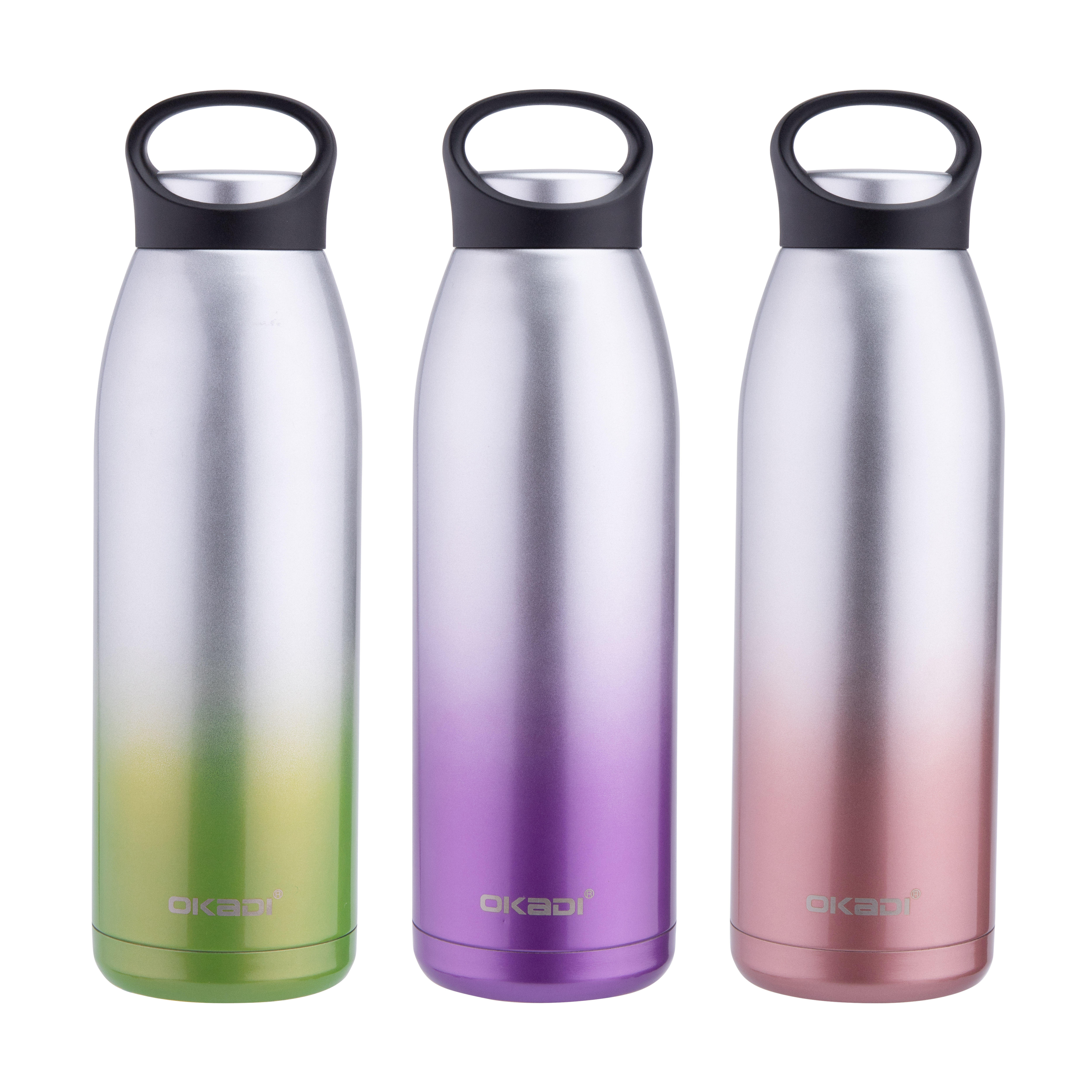 Unique products double wall stainless steel vacuum flask Sport water bottle