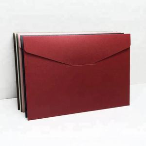 Wholesale High Quality Custom Printed Cheap Colored Pearl Paper Envelopes For Card/For Gift/For Business