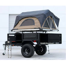 Ecocampor 4wd Overland Small Lightweight Offroad Rv Travel Caravan Trailer With Pop Up Tent Under 20 Feet for Sale