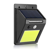 48 LED COB solar wall mounted light,IP 65 waterproof solar light garden outdoor wall