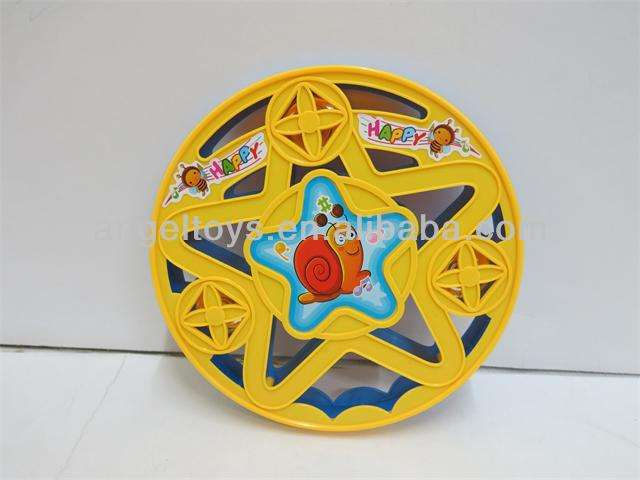 Plastic tambourine toy/toy musical instrument for kids!