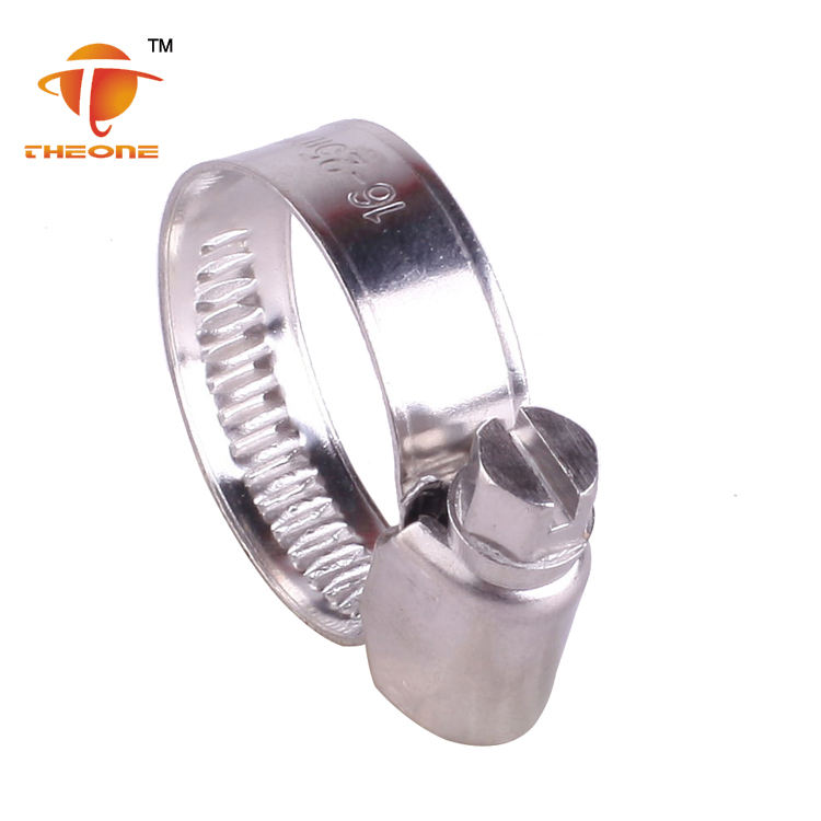 Stainless Steel Automotive Worm Drive Germany Hose Clamps