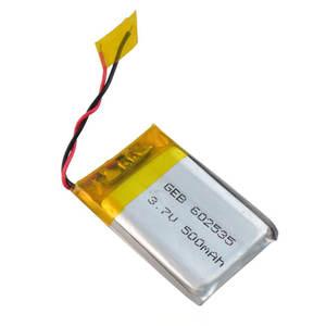 GEB 602535 li-ion battery 3.7v 500mah for gb/t18287-2013 mobile phone battery