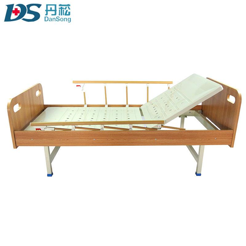 L'uso del legno bedhead paramount casa di cura medica letto con una manovella