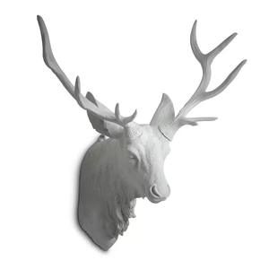 Resin animal head wall hanging deer head sculpture for decoration