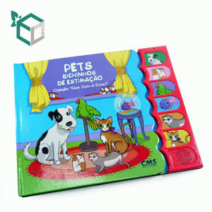 Hot sale nice looking perfect binding custom printing carton Children book