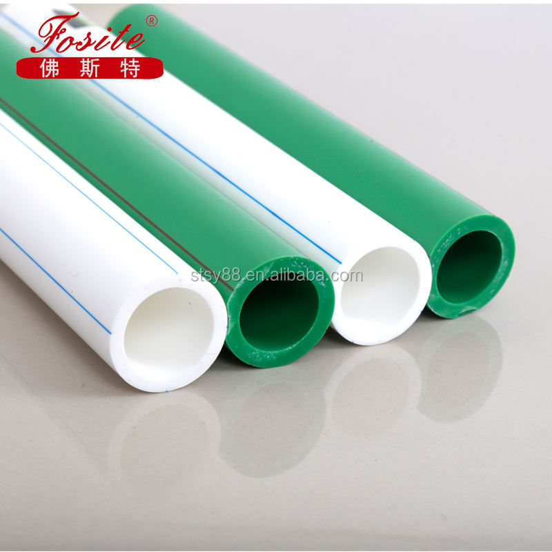 China Factory Directly Sale ISO9001 Qualified Pipe List of PPR Pipe