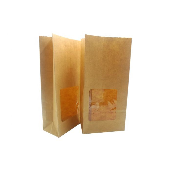 Bespoke biodegradable paper bag for food packaging